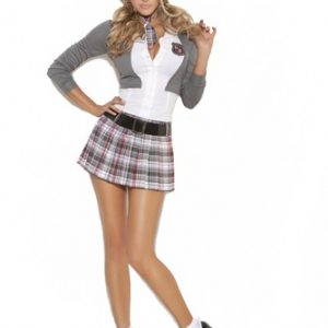 Sexy School Girl Costume - Queen of Detention