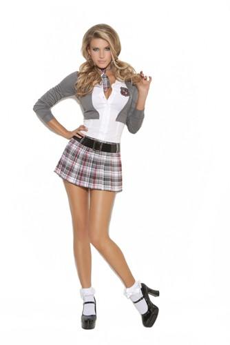 Sexy School Girl Costume - Queen of Detention