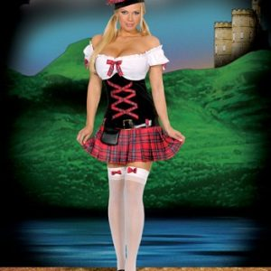 Sexy Scottish Costume - Sassie Lassie