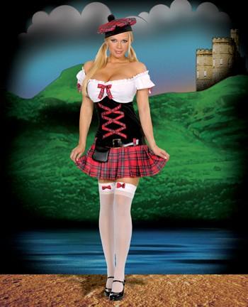 Sexy Scottish Costume - Sassie Lassie