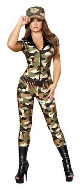 Sexy Soldier Costume – 2pc