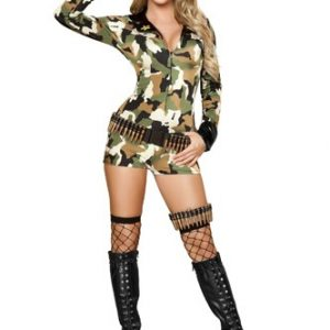 Sexy Soldier Costume - 3pc