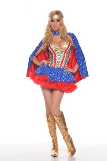 Sexy Superhero Girl Costume