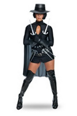 Sexy V for Vendetta Costume