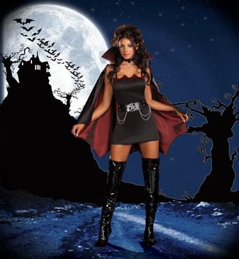 Sexy Vampire Costume -