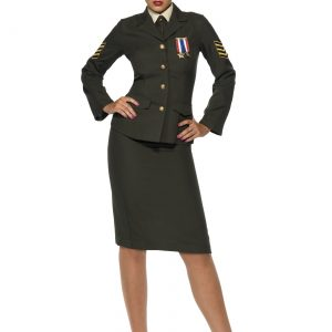 Sexy Wartime Officer Costume