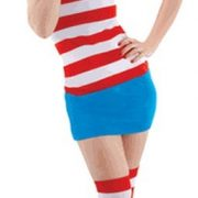 Sexy Wheres Waldo Costume