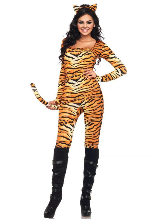 Sexy Wild Tiger Costume
