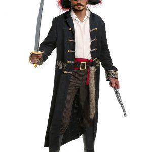 Shipwreck Captain Men's Plus Size Costume