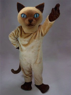 Siamese Cat Mascot Costume