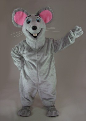 Silly Mouse Mascot Costume