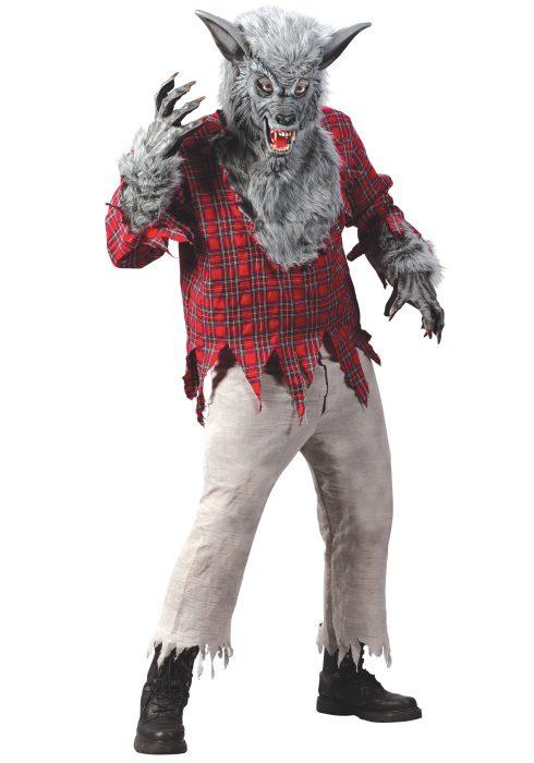 Silver Werewolf Costume