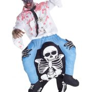 Skeleton Piggyback Mens Costume