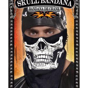 Skull Face Biker Bandanna