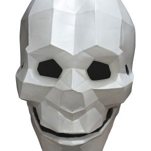Skull Low Poly Adult Mask