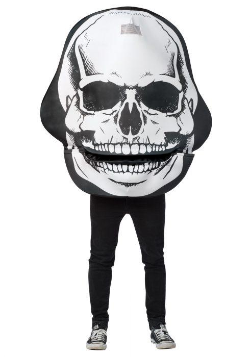 Skull Mouth Head Adult Costume