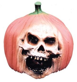 Skull Pumpkin Decoration