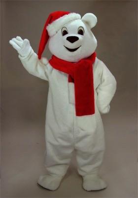 Sno Bear Mascot Costume