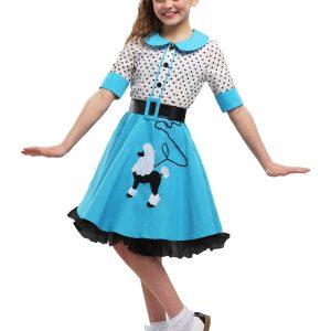 Sock Hop Cutie Girls Costume