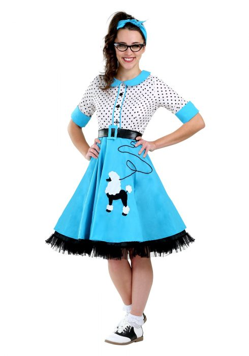 Sock Hop Cutie Women's Costume