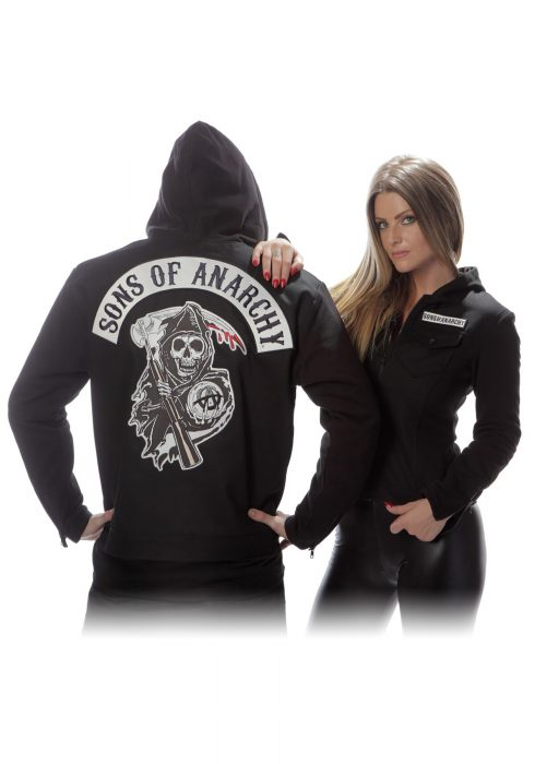 Sons of Anarchy Twill Highway Jacket