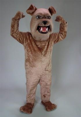 Sparky Bulldog Mascot Costume