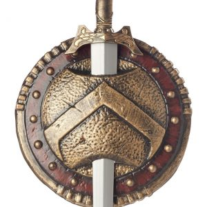 Spartan Shield and Sword