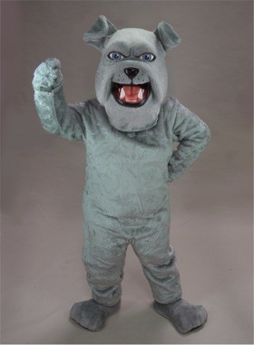 Spike Bulldog Mascot Costume