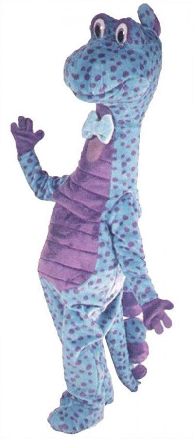 Spot Dinosaur Mascot Costume
