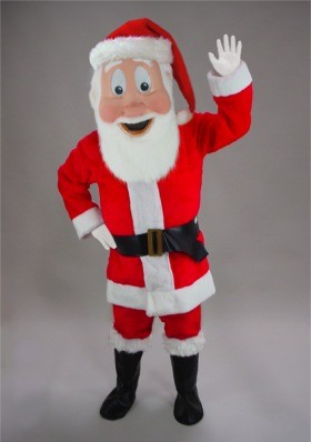 St. Nick Mascot Costume
