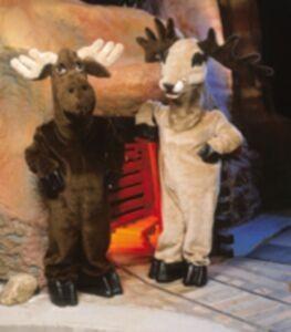 Stag Deer Mascot Costume