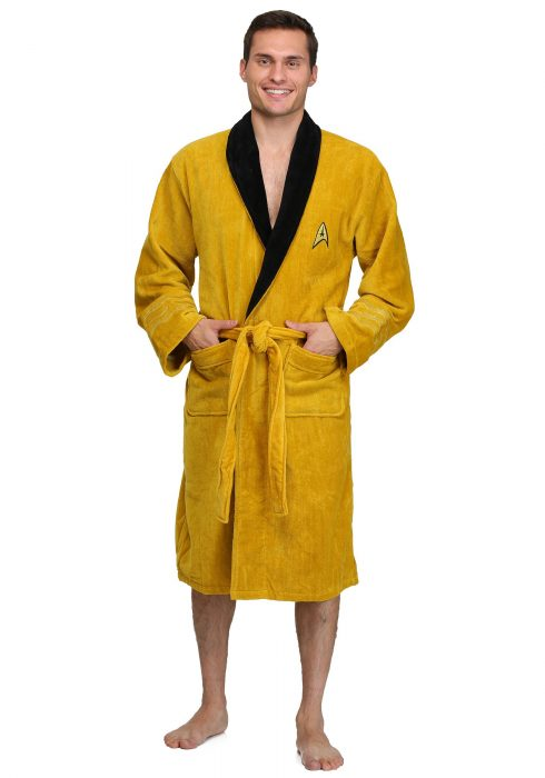 Star Trek Captain Kirk Bathrobe