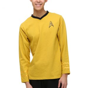 Star Trek Men's Captain Kirk Pajama Set