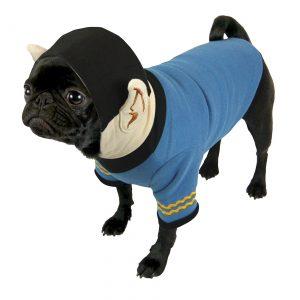 Star Trek Spock Hooded Dog Uniform