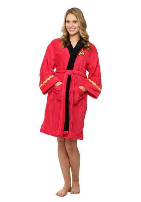 Star Trek Women's Fleece Bathrobe
