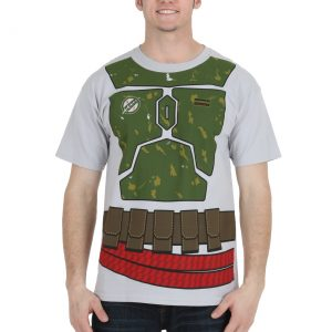 Star Wars I Am Boba Fett Costume T-Shirt