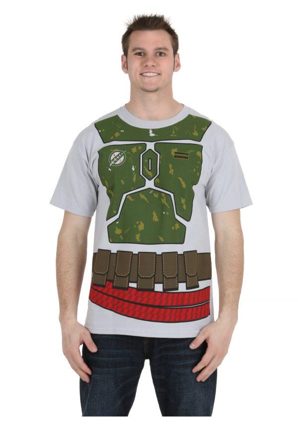 Star Wars I Am Boba Fett Costume T-Shirt