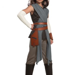 Star Wars The Last Jedi Deluxe Rey Kids Costume