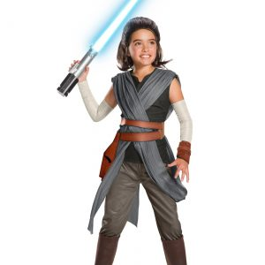 Star Wars The Last Jedi Super Deluxe Rey Kids Costume