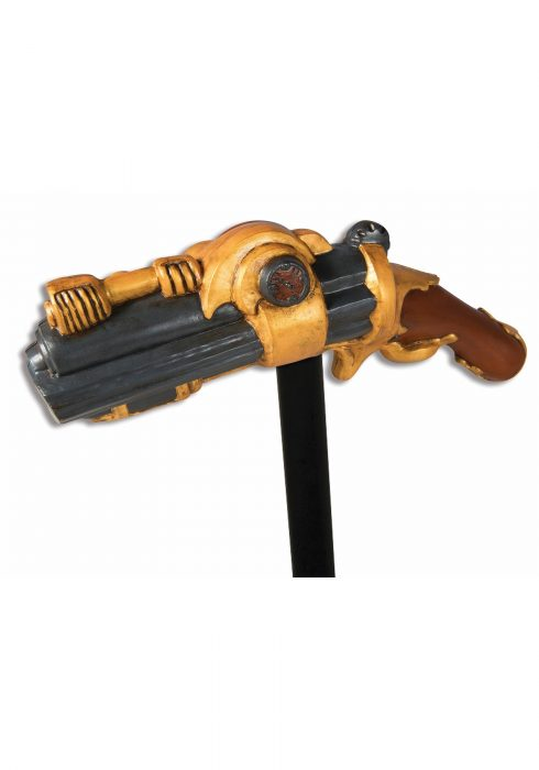 Steampunk Pistol Grip Cane