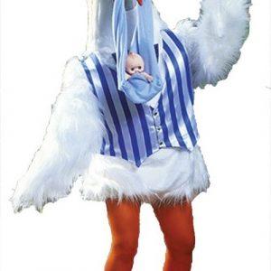 Stork Mascot Costume