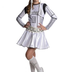 Stormtrooper Tween Dress Costume