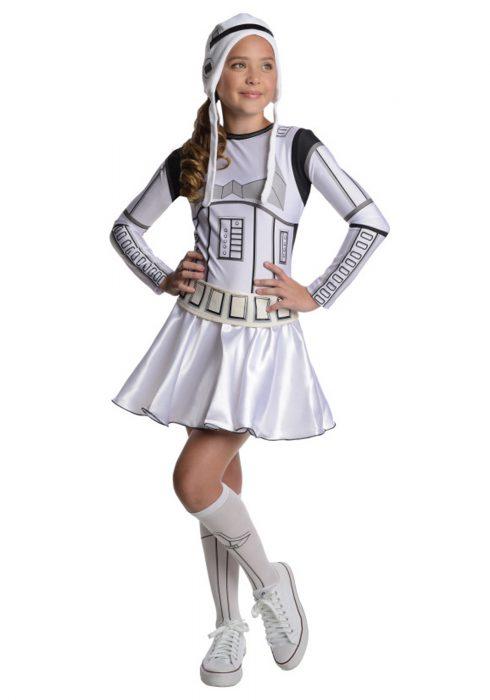 Stormtrooper Tween Dress Costume
