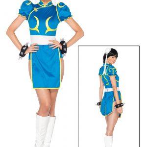 Street Fighter Chun-Li Women's Costume