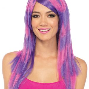 Striped Cheshire Cat Wig