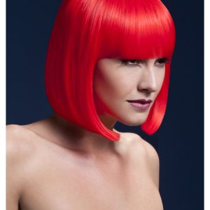 Styleable Fever Elise Neon Red Wig