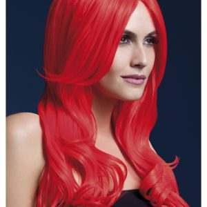 Styleable Fever Khloe Neon Red Wig