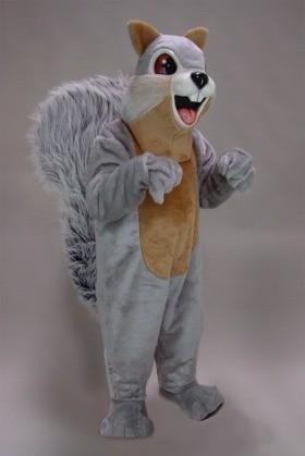 Sue Squirrel Mascot Costume