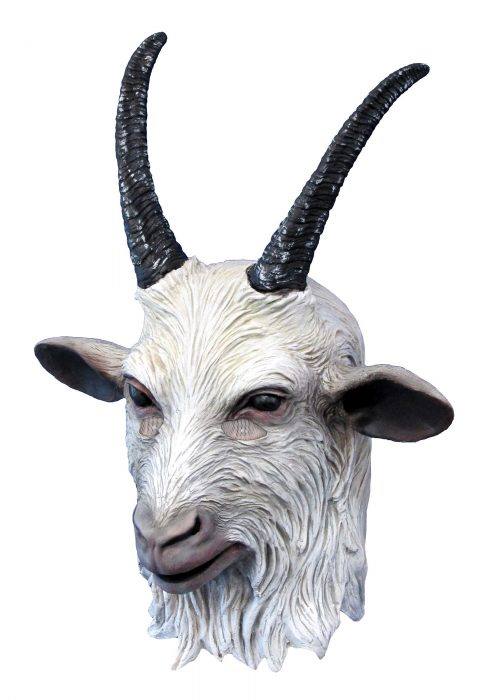 Suicide Squad Goat Overhead Latex Mask
