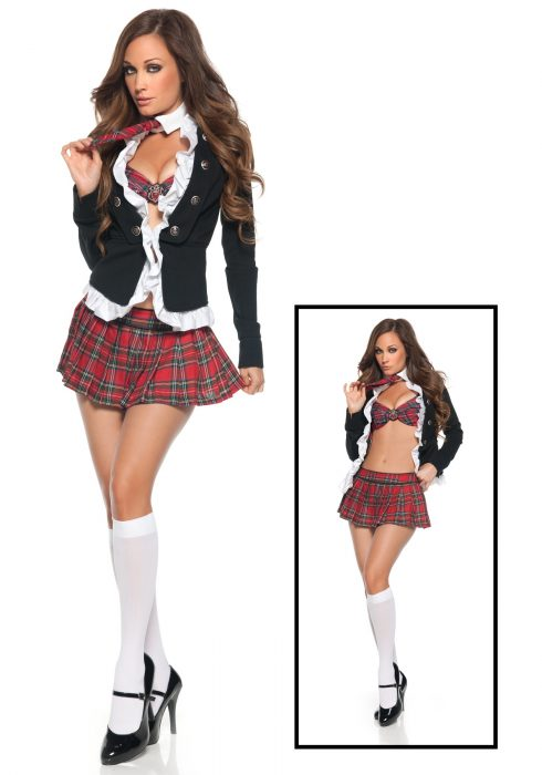 Super Sexy School Girl Costume